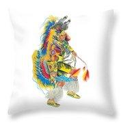 Fancy Dancer 1 Throw Pillow