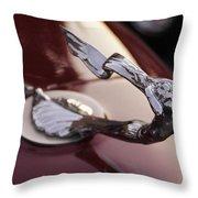 Fancy Hood Ornament Throw Pillow