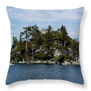 Fanette Island Tea Party Throw Pillow