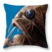 Fangtooth Throw Pillow