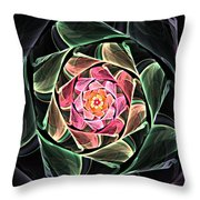 Fantasy Floral Expression 111311 Throw Pillow