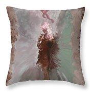 Fantasy Girl Throw Pillow