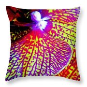 Fantasy Orchid 1 Throw Pillow
