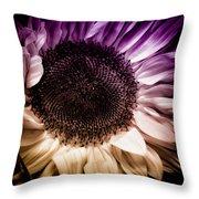Fantasy Sunflower Throw Pillow