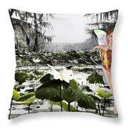 Fantasy Woods Throw Pillow