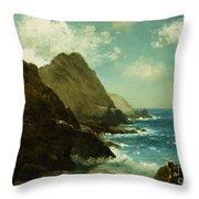 Farallon Islands Throw Pillow