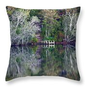 Farewell To Summer - Digital Painting Throw Pillow