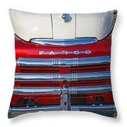 Fargo Grill Throw Pillow