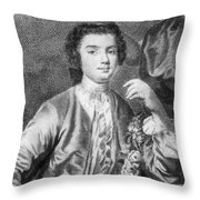 Farinelli (1705-1782) Throw Pillow