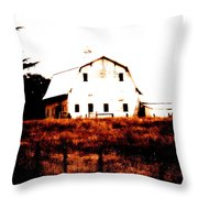 Farm Used Up Throw Pillow
