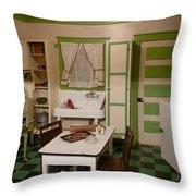 Farmhouse Kitchen Throw Pillow