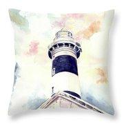 Faro Dell'isola Dei Cavoli Throw Pillow
