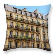 Fascination Paris Throw Pillow
