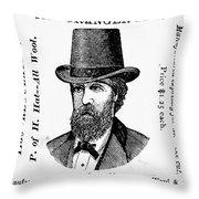 Fashion: Granger Hat Throw Pillow