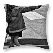 Fashionable Support Throw Pillow