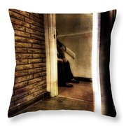 Fast Fading From View Throw Pillow