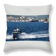 Fast In Turkey Throw Pillow