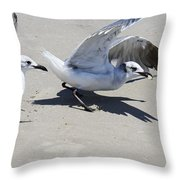 Faster Than The Other Guy Throw Pillow