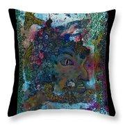 Faun - Nature Spirit Throw Pillow