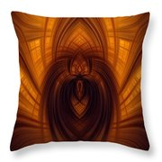 Fawning Obsequiousness Throw Pillow