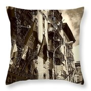 Feast Flags Throw Pillow