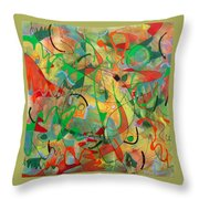 Feathered Nest Throw Pillow