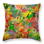 Feathered Nest Three Throw Pillow