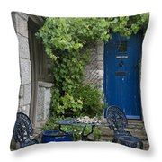 Feel A Homey Ambience Throw Pillow by Heiko Koehrer-Wagner