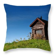 Feel The Breeze Throw Pillow by Lois Bryan