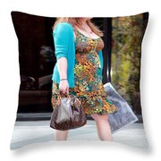 Feelin' Good Throw Pillow