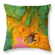 Feeling Flushed Throw Pillow