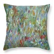 Feeling Your Way Throw Pillow