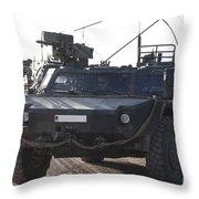Fennek Armored Reconnaissancd Vehicles Throw Pillow