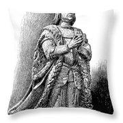 Ferdinand V Of Castile (1452-1516) Throw Pillow by Granger