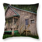 Ferndale Country Store Throw Pillow