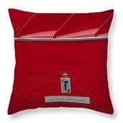 Ferrari Pininfarina Emblem 3 Throw Pillow