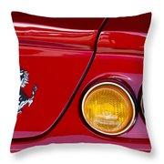 Ferrari Taillight Emblem 2 Throw Pillow
