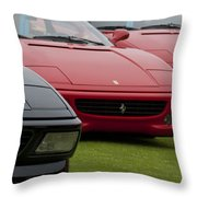 Ferraris 4 Throw Pillow