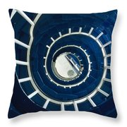Ferris Point Lighthouse, Larne, County Throw Pillow