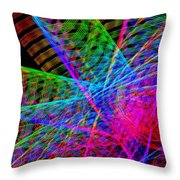 Ferris Tracings 650 Throw Pillow