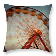 Ferris Wheel Vi Throw Pillow