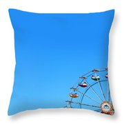Ferrisweel Throw Pillow