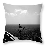 Ferry Ride Throw Pillow