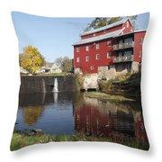 Fertile Mill Throw Pillow