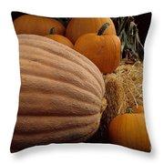 Festive Fall II Throw Pillow