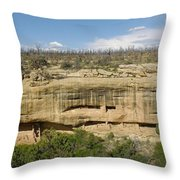 Fewkes Canyon Cliff Dwelling Throw Pillow