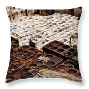 Fez Tannery Throw Pillow