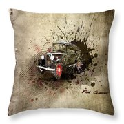 Fiat Classic Throw Pillow