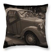 Fiat Dream Car Throw Pillow