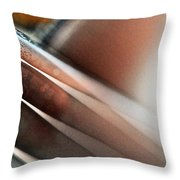 Fiddle Strings IIi Throw Pillow